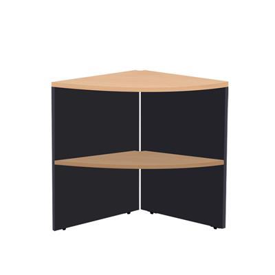 โต๊ะเข้ามุม บีช-เทาดำ เฟอร์ราเดค E1