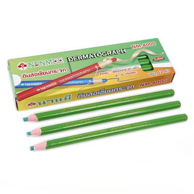 ดินสอเขียนกระจก เขียว นานมี NM-8000
