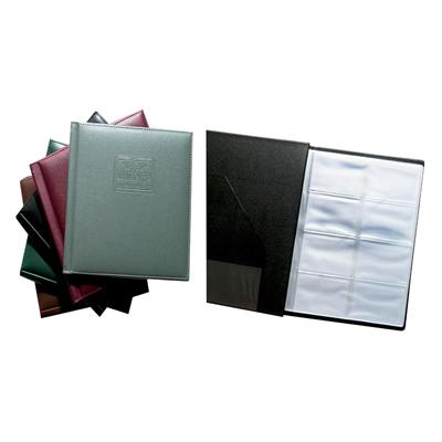 สมุดเก็บนามบัตร 21.5×27 ซม. Quiet V848