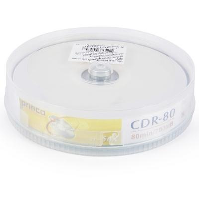 แผ่น CD-R Printable 56X (10 แผ่น) พริ้นโก้