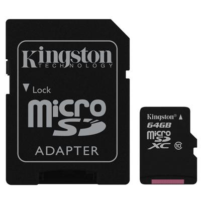Kingston Micro SDXC Class10 เมมโมรี่การ์ด 64 GB