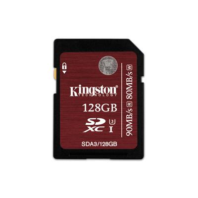 Kingston SDXC UHS-I U3 เมมโมรี่การ์ด 128 GB