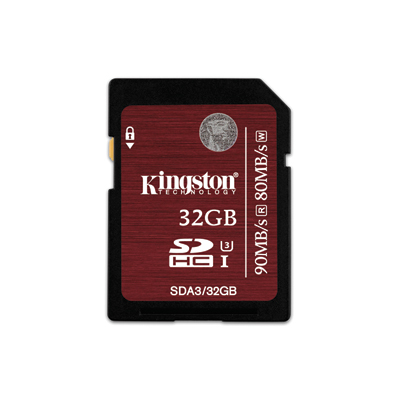 Kingston SDXC UHS-I U3 เมมโมรี่การ์ด 32 GB