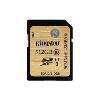 Kingston SDXC UHS-I Ultimate Class10 เมมโมรี่การ์ด 512 GB