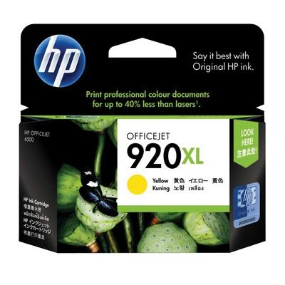 ตลับหมึกอิงค์เจ็ท HP 920XL (CD974AA) เหลือง