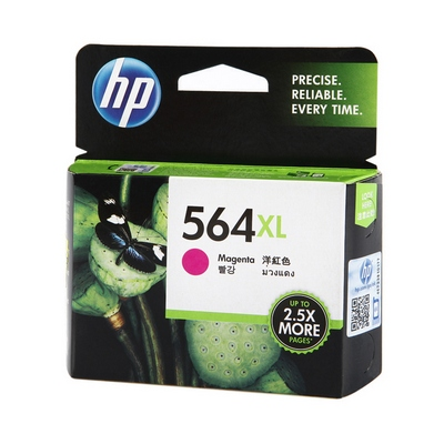ตลับหมึกอิงค์เจ็ท HP 564XL (CB324WA) สีแดงอมม่วง