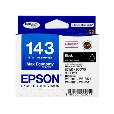 ตลับหมึกอิงค์เจ็ท T143190 (T143) ดำ Epson