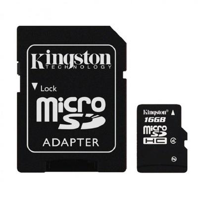 Kingston Micro SDHC Class4 เมมโมรี่การ์ด 16GB