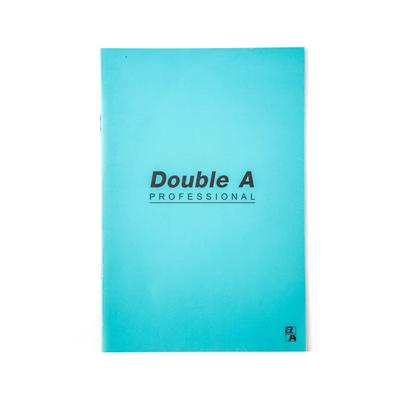 สมุดบันทึกมุงหลังคา 16×23.8ซม. 70แกรม เขียว Double A Professional