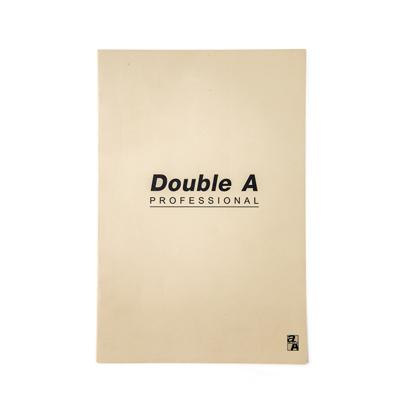 สมุดบันทึกมุงหลังคา 16×23.8ซม. 70แกรม ครีม Double A Professional