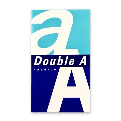 สมุดโน๊ต 9x16ซม. 80แกรม (24แผ่น) Double A