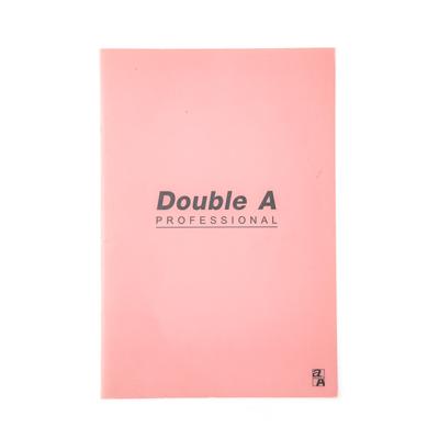 สมุดบันทึกมุงหลังคา 16×23.8ซม. 70แกรม ชมพู Double A Professional