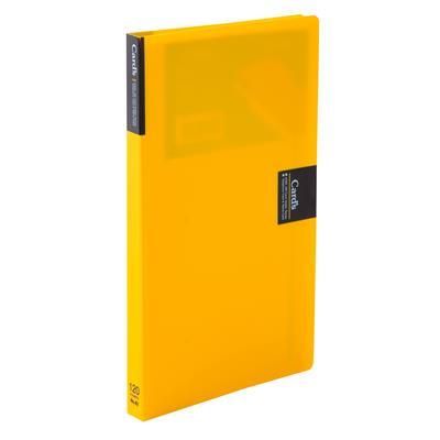 สมุดเก็บนามบัตร เหลือง คิงส์จิม 42