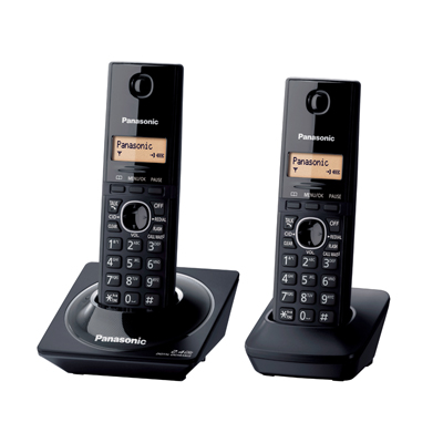 โทรศัพท์ไร้สาย สีดำ Panasonic KX-TG3452BXB