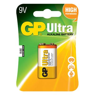 ถ่านอัลคาไลน์ 1604AU-5U1 9V GP Ultra