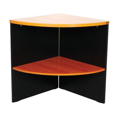 โต๊ะเข้ามุม เชอร์รี่-ดำ STB ST-CONNER A