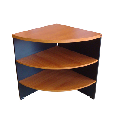 โต๊ะเข้ามุม เชอร์รี่-ดำ STB TF-001X