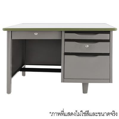 โต๊ะทำงานเหล็ก ครีม เอเพ็กซ์ ATC-2648