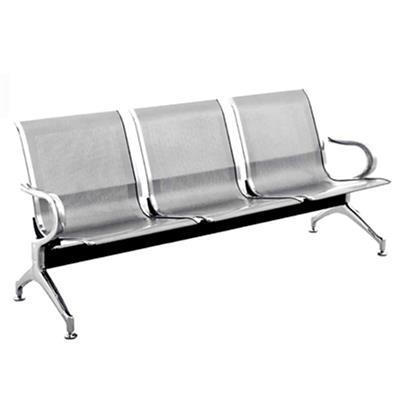 เก้าอี้ 3 ที่นั่ง มีแขน สีเทา กรีนไลน์ B03A-GY