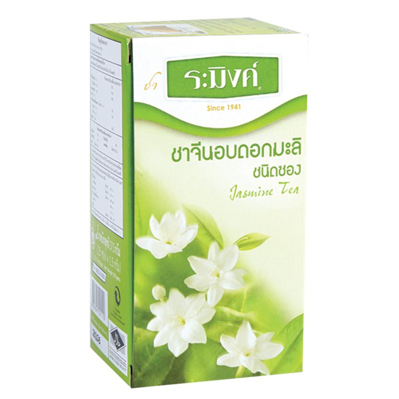 ดอกมะลิ: ชาจีนอบดอกมะลิ (แพ็ค 25 ซอง) ตราระมิงค์ Non Series ชา