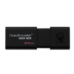 แฟลชไดร์ฟ Kingston Data Traveler DT100 G3 64GB Black