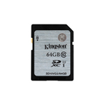 Kingston SDXC Class 10 Memory Card 64GB (SD10VG2) 64GB